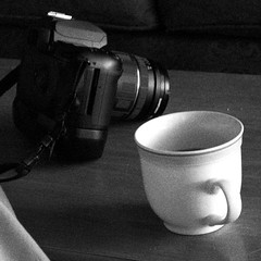 Camera and Coffee - Sharbot Lake Canada