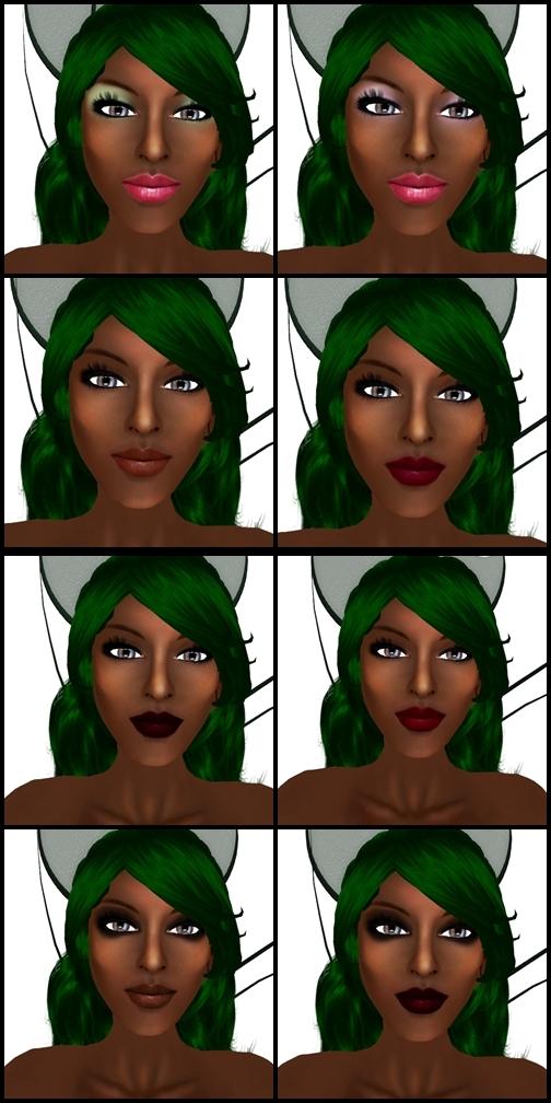 Appearance Skins - Elise - Makeup Sampler