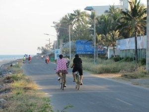 Bike Ride in Pranburi