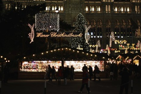 Christmas Market, Radhausplatz, Vienna