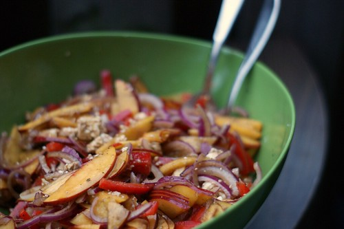Nectarine-Feta Salad