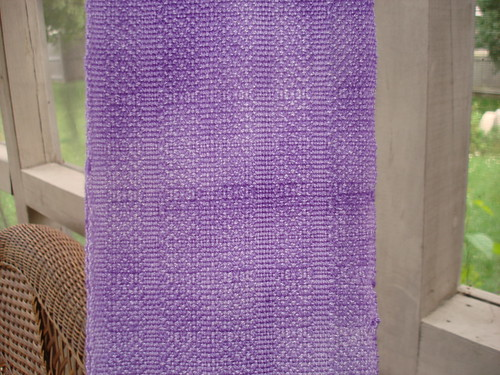 up close woven lilac scarf 7-27-2009 6-05-08 PM