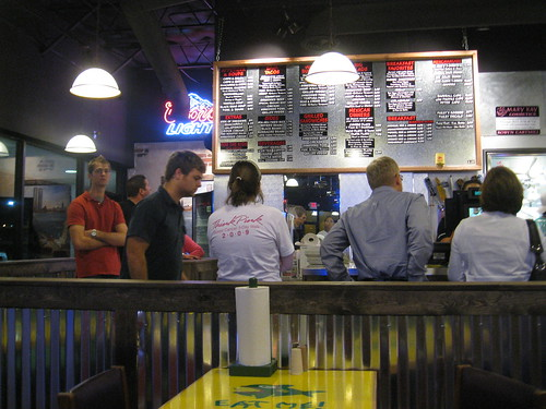 Line at Fuzzy's