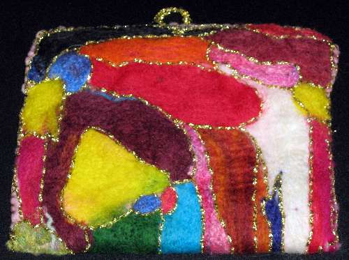 Needle Felted Purse