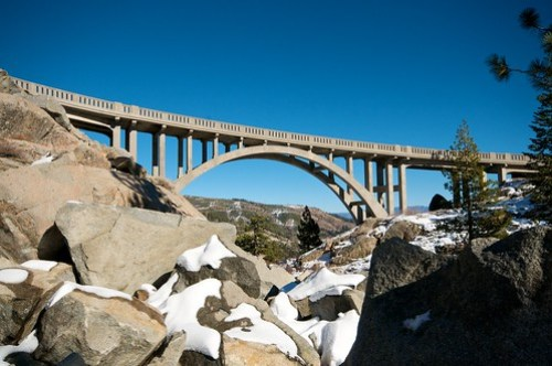 The Donner Pass Bridge