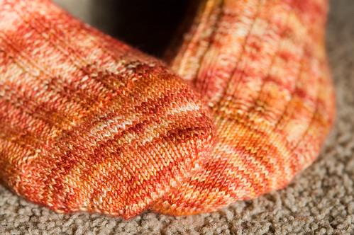 campfire socks (by bookgrl)