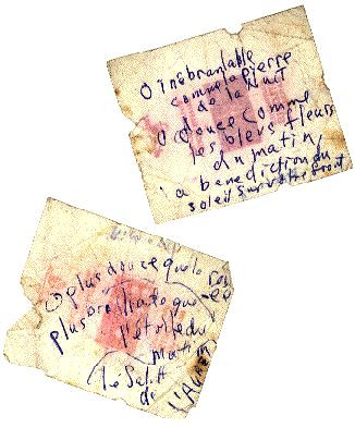 papiers de sucre écrits par Brendan