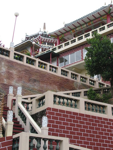 Stairs Going to Taoist Temple