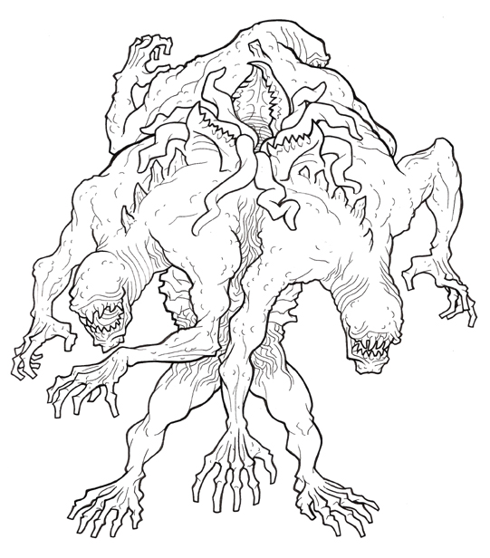 Off-the-cuff collaborative Monster Manual's Journal