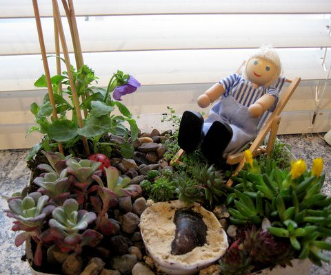 Miniature Garden Ideas 40 magical diy fairy garden ideas Miniature Garden Ideas For Children