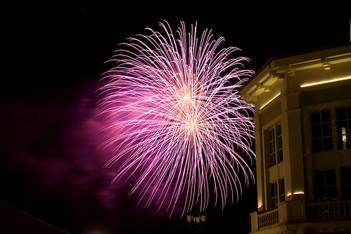 Napa Fireworks Display