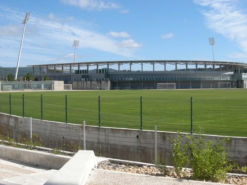 090714訓練營中的足球場