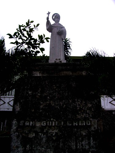 The image of San Guillermo located atthe back of the convent