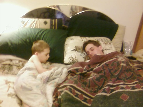 aww! just aww! found them zonked after SNF!