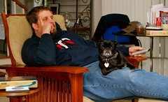 Zoe & her dad chillin like villians