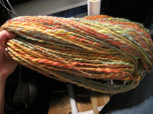 192/365: First Yarn!