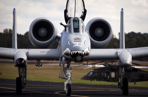 Cruising In A-10 Warthog