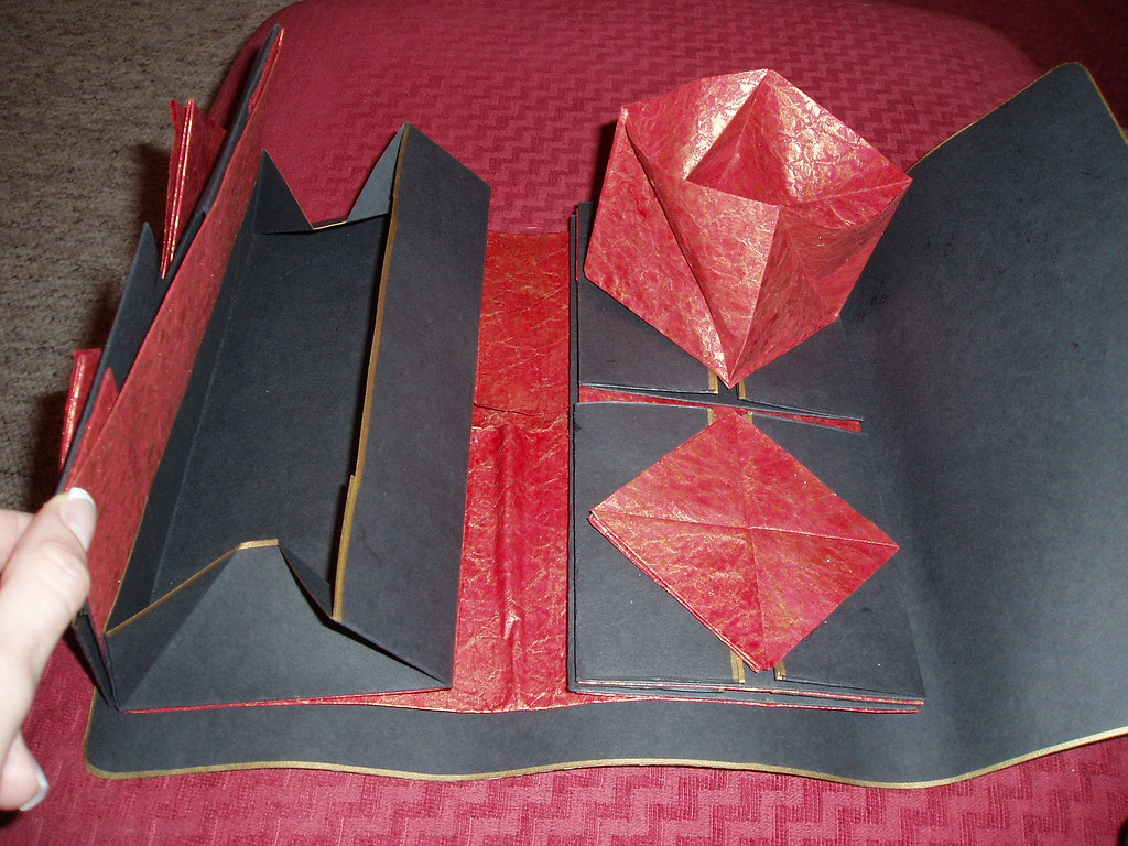 Folded secrets booklet