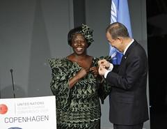 Secretary-General Inducts Wangari Maathai as U...