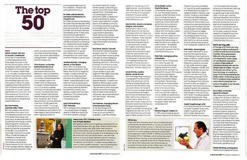 Guardian/Observer & Courvoisier Future 500 Top 50