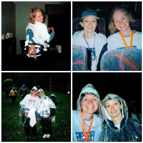 October 2002, Breast Cancer 3 Day Walk by you.