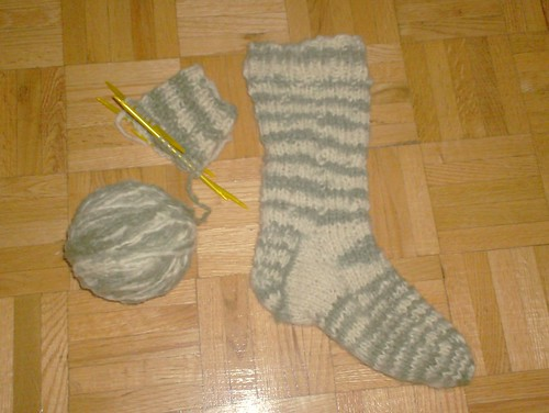 Whirling Woolly Worksocks