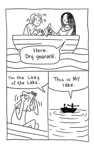 Tragic Relief Sketchblog: NaGraNoWriMo 5