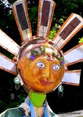 Sun Puppet - Riverfest in Shelburne Falls, MA