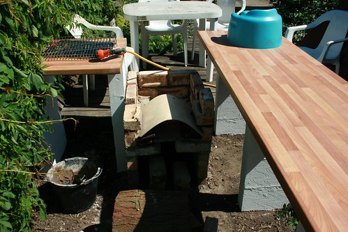 Brick BBQ/Garden Kitchen