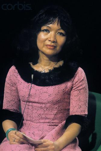 07 May 1975, NewYork - Madame Ngo Dinh Nhu