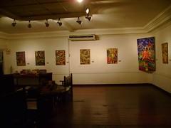 Casa Osmena also serves as an art gallery for aspiring Cebuano artist