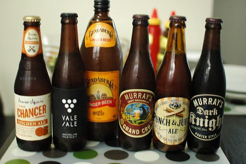 Ales and ginger beer