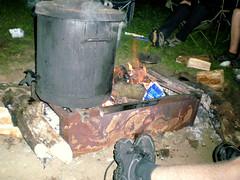 The Campfire Bin (notice the Custard)