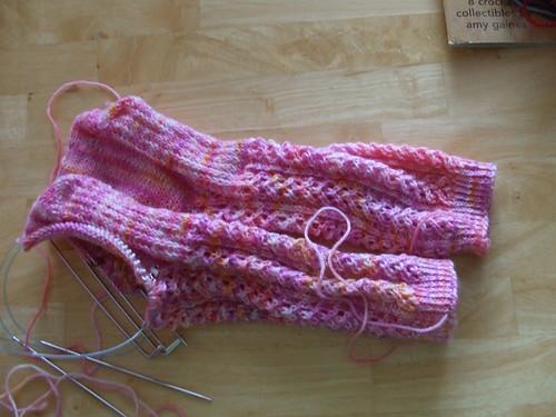 Hedera Socks still a WIP
