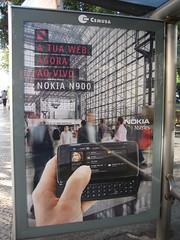 Propaganda do N900 em Portugal