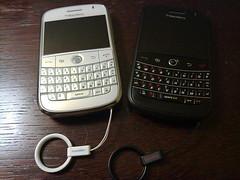 Black & White BlackBerry Bold