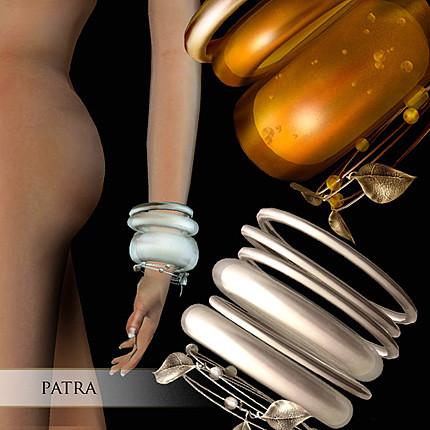 Zaara : Patra stacked wire bracelets