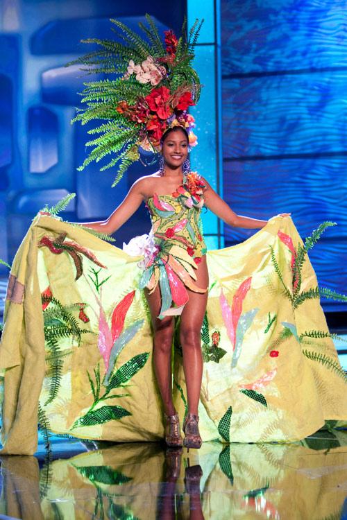 Traje Típico de Miss Jamaica