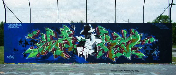 michael jackson graffiti