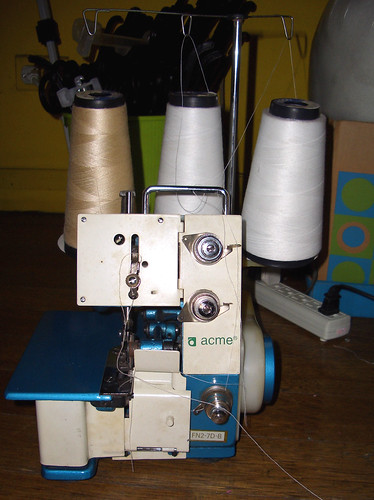 3-Thread Overlock Machine