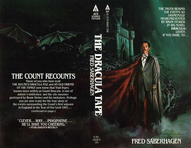 awesome tober fest the dracula tape by fred saberhagen  dracula tape book cover