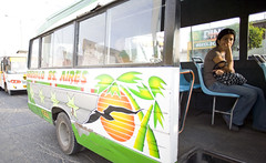 Buenos Aires - Arevalo bus in Trujillo