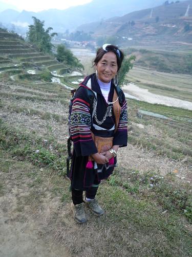 Hmong Frau