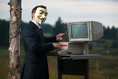 Anonymity; and the Internet.