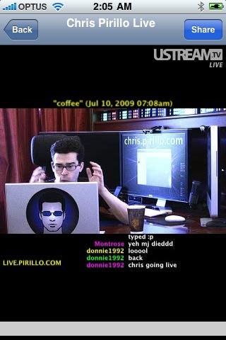 Chris pirillo live