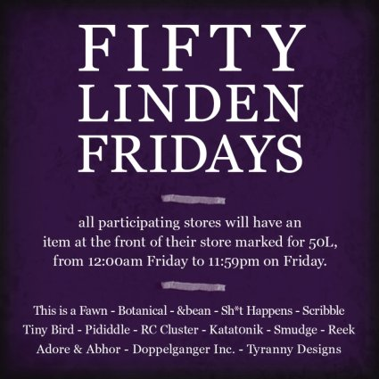 Fifty Linden Friday Week 10