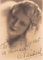 Clara Clairbert, Belgian soprano (1890-1969)