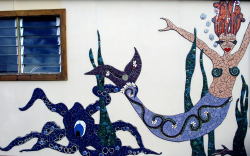 Mermaid Mural - Done!