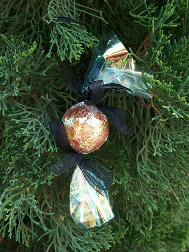 Glittered Candy Ornament