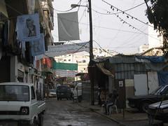 Entrée du camp de Shatila